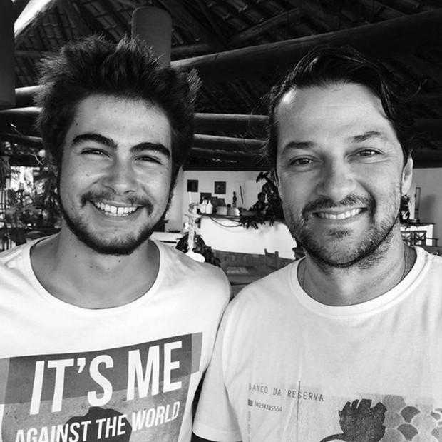 Rafael Vitti e Marcelo Serrado vão dividir o mesmo papel na novela Velho Chico (Foto: Reprodução/Instagram)
