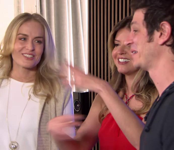 Mariana conta que o marido era apaixonado por Angélica (Foto: TV Globo)