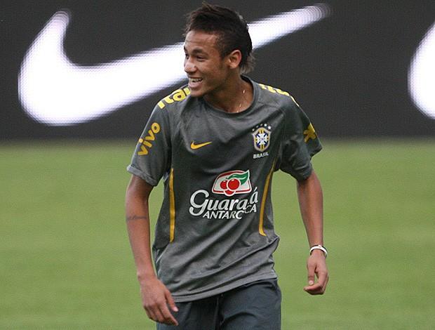 neymar seleção brasileira treino (Foto: Mowa Press)