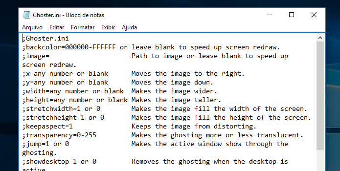 Ghoster escurece apps inativos e tem controle avançado totalmente manual (Foto: Reprodução/Paulo Alves)