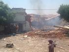 Fábrica de fogos de artifício explode no Ceará e deixa dono ferido
