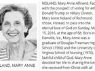 Obituário diz que mulher preferiu morrer a votar em Trump ou Hillary