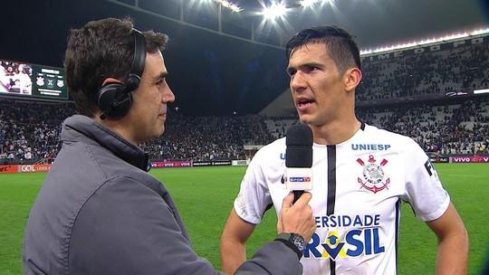 """Balbuena se esquiva sobre futuro no Corinthians: """"Não depende de mim"""""""