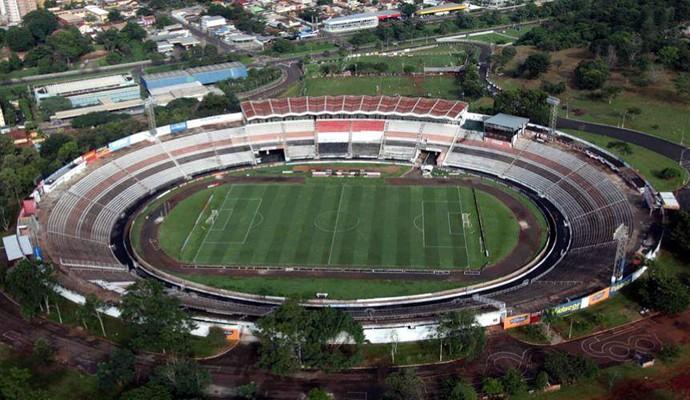 Estádio Santa Cruz, Ribeirão Preto (Foto: Airton G. Silva/Ag. Botafogo)