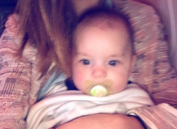 Julio, filho da atriz Bruna Hamú (Foto: Reprodução/Instagram)