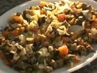 Salada é opção leve e saudável para refeição (Reprodução/TV Bahia)