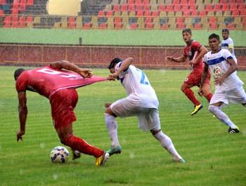 Real Noroeste X Rio Branco na Arena da Floresta (Foto: Nathacha Albuquerque)