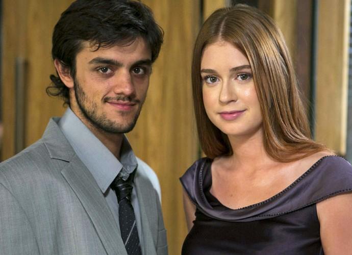 'Ela tem uma linda alma', elogia o ator (Foto: Inácio Moraes/Gshow)