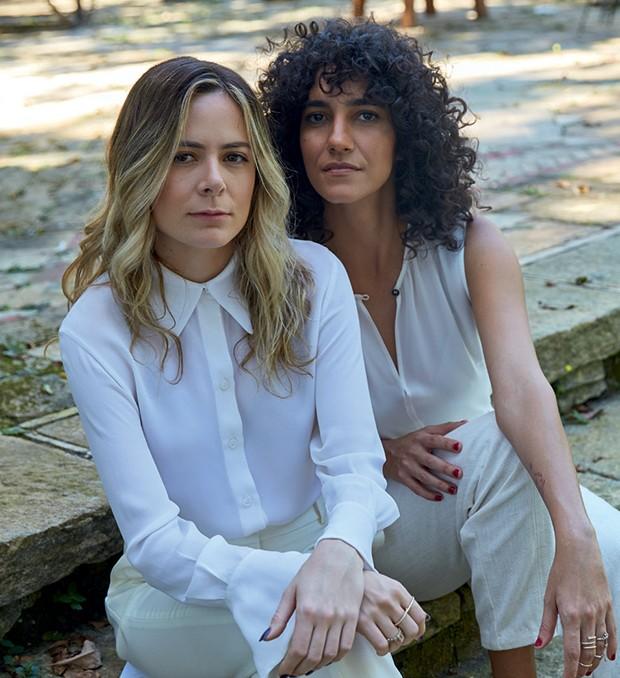 As idealizadoras Isabel Nascimento Silva (à esquerda) e Antônia Pellegrino (Foto: Divulgação, Fernando Frazão /Agência Brasil e Lucas Bori )