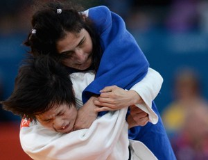 paralimpíadas judô Karla Ferreira e  Xiaoli Huang (Foto: Getty Images)