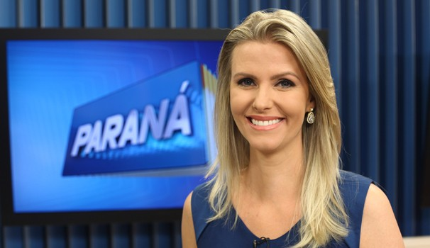 Thays Beleze jornalismo RPC TV HD (Foto: Cleverson José/RPC TV)