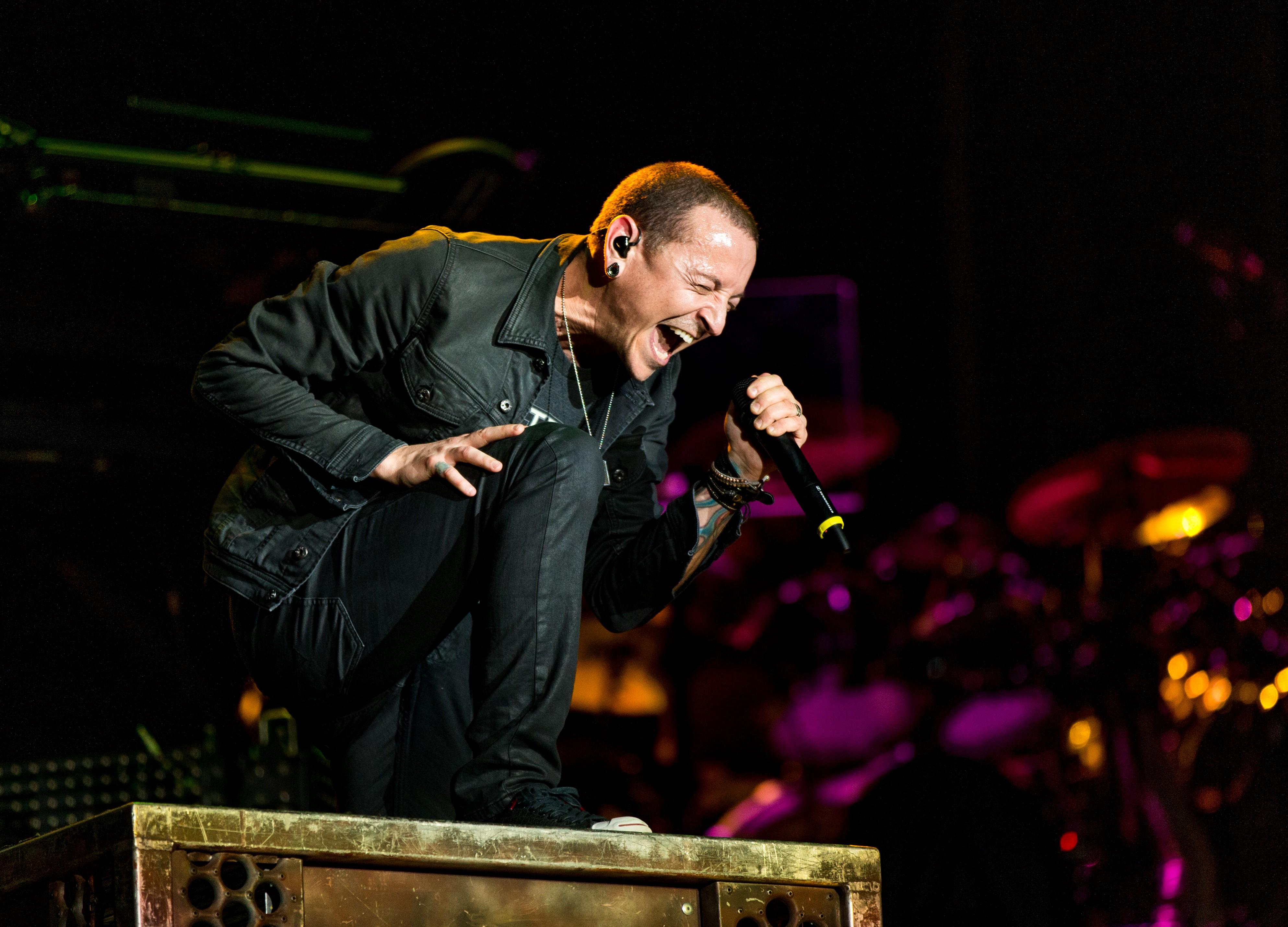 Chester Bennington, vocalista do Linkin Park  (Foto: Getty Images/Christopher Polk)