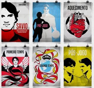 savio livro flamengo santa catarina lançamento artes (Foto: Divulgação / Ale Maia Padua)