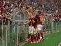 Roma domina, e dupla bósnia garante a vitória no clássico contra o Juventus