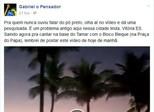 Em rede social, Gabriel O Pensador alerta sobre o pó preto em Vitória