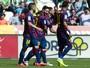 Suárez faz três, Messi dois, e Barça trucida o rebaixado Córdoba: 8 a 0