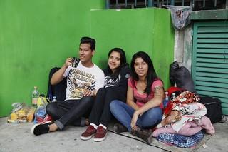 Fãs acampados para show de Katy Perry: Lucas Tranquini Joyce Rocha, Joyce Ramos (Foto: Alessandra Gerzoschkowitz)