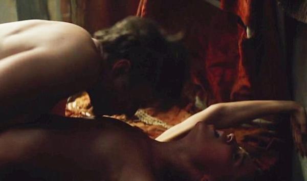 A atriz Alicia Vikander no trailer de Amor e Tulipas (Foto: Reprodução)