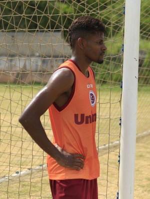 Ramires, lateral-direito da Desportiva Ferroviária (Foto: Marlon Max)