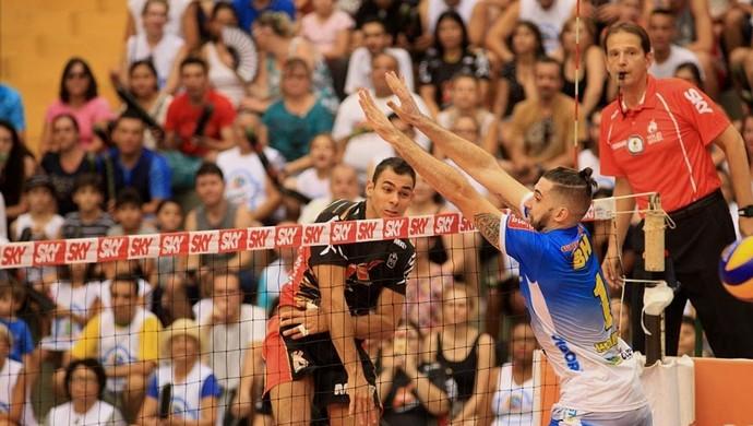 Campinas x Montes Claros, Superliga (Foto: Cinara Piccolo/Divulgação Brasil Kirin)