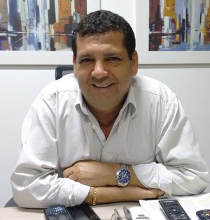 Valdemir Mendes, presidente da Cabofriense (Foto: Andreia Maciel)