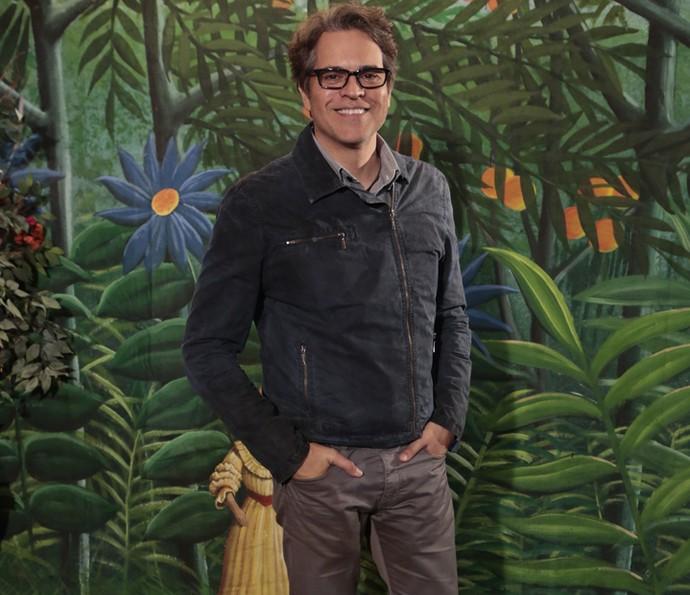 Juan Alba foi responsável pelo papel de Amadeu (Foto: Felipe Monteiro/ Gshow)