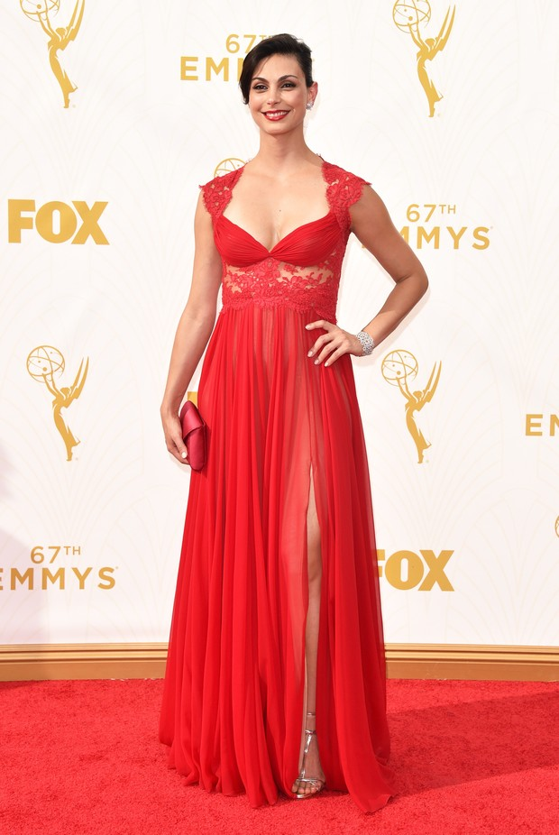 Morena Baccarin no Emmy Awards (Foto: Getty Images)