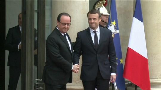 Macron promete 'superar divisões' em discurso de posse na França