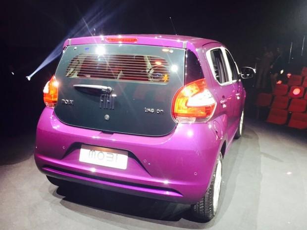 Fiat Mobi  (Foto: Luciana de Oliveira / G1)