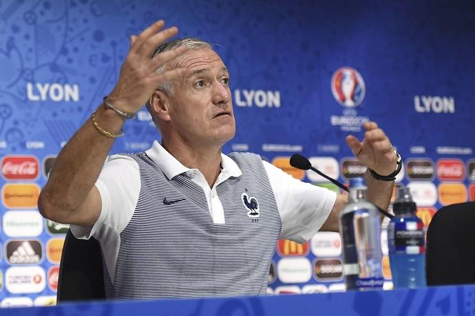 Didier Deschamps, entrevista França (Foto: REUTERS/UEFA/Handout)