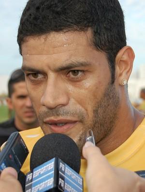 Hulk, atacante, em Campina Grande (Foto: Silas Batista / GloboEsporte.com/pb)