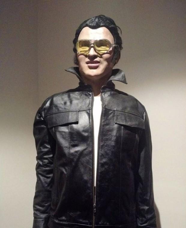 Estátua de cera de Elvis Presley (Foto: Reprodução)