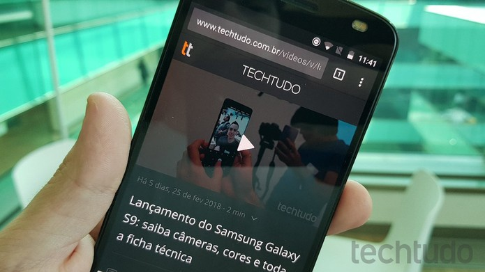 Conheça os melhores navegadores para Android disponíveis na Google Play Store (Foto: Bruno de Blasi/TechTudo)