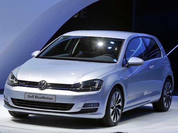 Volkswagen Golf Bluemotion. (Foto: Michel Euler / AP Photo)