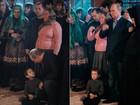 Putin 'assusta' criança durante evento da Igreja Ortodoxa