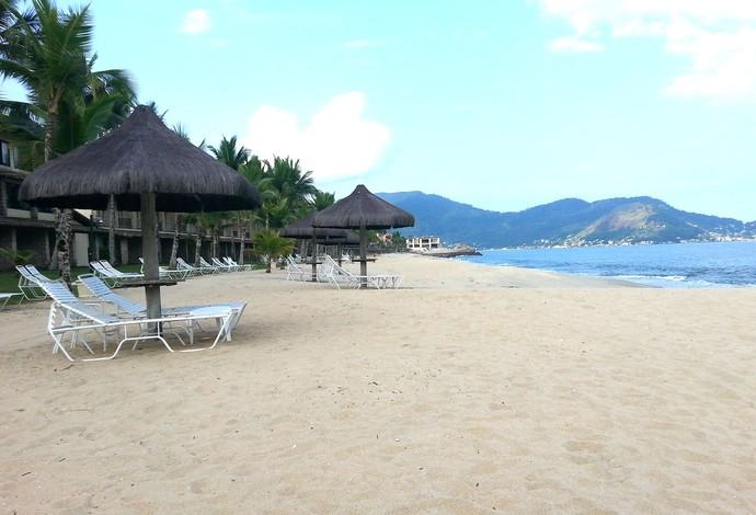 Hotel Itália Praia de Mangaratiba (Foto: Carlos Augusto Ferrari)