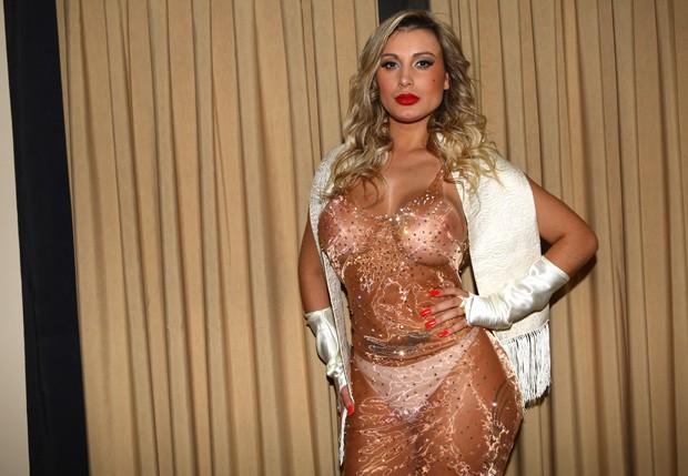 A modelo Andressa Urach teve problemas graves devido à aplicação de hidrogel nas coxas (Foto: Iwi Onodera/EGO)