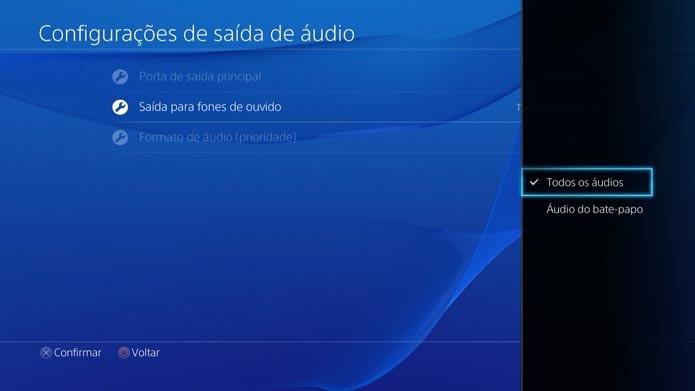 Playstation 4: como ouvir o audio dos games usando o headset (Foto: Murilo Molina)