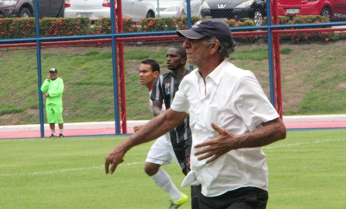 Aderbal Lana técnico Rio Negro (Foto: Silvio Lima)