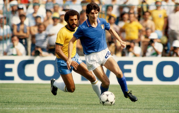 junior brasil paolo rossi itália copa do mundo 1982 (Foto: Agência Getty Images)