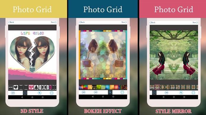 Mirror Photo Grid é um aplicativo para Windows Phone que cria efeito espelho em fotos (Foto: Reprodução/Elson de Souza)