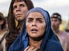 Paloma Bernardi posa caracterizada de Maria para 'Paixão de Cristo'