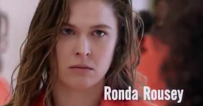 BLOG: Ronda Rousey chuta e dá golpe de judô em chamada de série televisiva