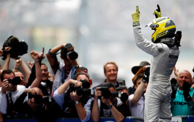 Nico Rosberg, GP da China (Foto: Getty Images)