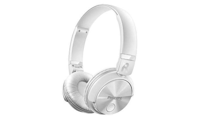 Fone de ouvido Philips Shb3060wt é uma boa opção Bluetooth com design dobrável (Foto: Divulgação/Philips)