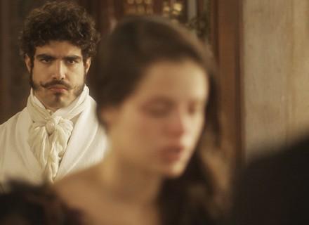 Pedro flagra Domitila confessando as armações dela