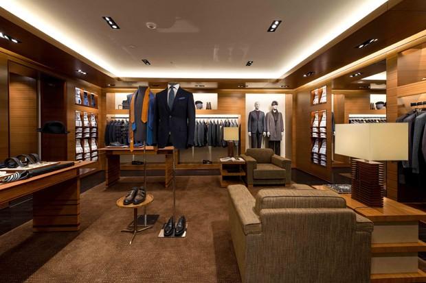 Nova loja da Zegna na Bond Street, em Londres (Foto: Divulgação)