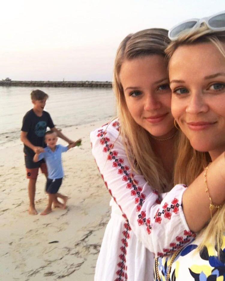 Reese Witherspoon com a filha, Ava Elizabeth (Foto: Reprodução/Instagram)