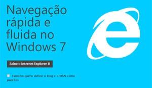 Internet Explorer 11 ganha versão para o Windows 7 (Foto: Reprodução/Microsoft.com)