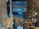 Priscila Nocetti e Rômulo Costa prestam queixa após fotos vazadas